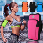 Luxury Sports Gym Running Jogging Double zipper Armband Phone Case Cover Holder