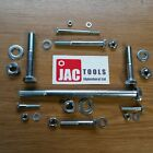 HEX HEAD BOLTS NUTS AND WASHERS BZP HIGH TENSILE M5 M6 M8  M10 M12 M16 M20 M24