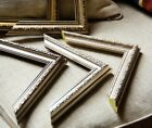 Ornate Shabby Chic Picture Photo Poster Frames Fitted with Glass Gold , Silver