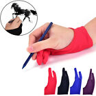 artist drawing tablet - 1pc Two Finger Anti-fouling Glove For Artist Drawing & Pen Graphic Tablet PadGxn