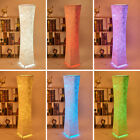 1x Modern LED Standing Floor Lamp RGB Color Changing Light Lanterns with Fabric