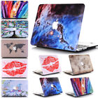 Multi-Color Marble Nebula Floral Bird Matte Hard Case Shell  for MacBook AIR 13""