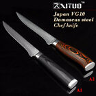 "Professional Kitchen Knive Knife Chef Slicing Fish Damascus Steel 5"" Japanese"
