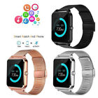 Z60 Bluetooth 4.0 Smart Watch Phone Mate Stainless Steel For Android iOS iPhone