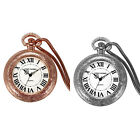 Vintage Quartz Analog Pocket Watch Wire USB Charging Cigarette Lighter RemovableAntique - 3940