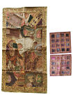 Indian Vintage Beaded Tapestry With Cushion Cover Patchwork Banjara Wall Hanging