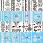New Removable Temporary Tattoo Lace Flower Body Art Tattoos Sticker Waterproof $1.49 USD on eBay