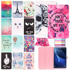Magnetic Painted Flip Leather Stand Wallet Case Cover For Sa