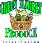 Green Market Produce DECAL (CHOOSE YOUR SIZE) Food Truck Concession Sticker