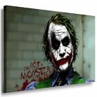 Batman Joker Heath Ledger Leinwandbild AK ART Kunstdruck Rahmen