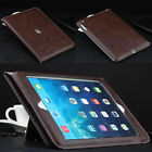 For iPad 2018 6th Gen 9.7 Inch Tablet Case Smart Leather Flip Stand Luxury Cover