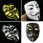 mask guy fawkes - V for Vendetta Mask Adult Mens Guy Fawkes Anonymous USA Occupy Halloween Costume