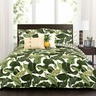 Tropical Paradise 5 Piece Quilt Set by Lush Decor