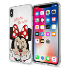 "Coque Silicone TPU Ultra-Fine Dessin Minnie Mouse Apple iPhone X 5.8""/ iPhone 10"