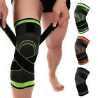 2*Knee Sleeve Brace Support Compression Patella Stabilizer Sports Gym Joint Pain