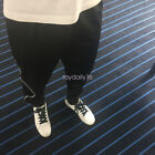 2018 Men's Sport Athletic Soccer Fitness Training Running Casual Pants Trousers