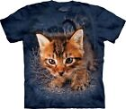 The Mountain Unisex Adult Pounce Captain Snuggles Cat TShirt