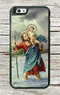 SAINT CHRISTOPHER TRAVELERS' PATRON CASE FOR iPHONE 8 or 8 PLUS -jkb9Z