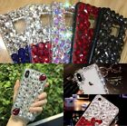 Luxury Bling 3D Crystal Diamonds Rhinestone Jewelled iPhone Samsung Case Cover