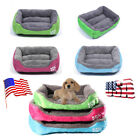 Pet Dog Cat Bed Puppy Cushion House Warm Soft Kennel Mat Blanket 2 SIZE New US