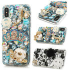 Luxury Shockproof Crystal Bling Diamond Rhinestone Cover Case for iPhone/Samsung