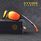Polarized Sport Cycling Glasses Goggles Driving Fishing Mirror Sunglasses TR90 2