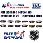 NHL Collars> Heavy-Duty, Durable & Adjustable Hockey Collar for Pets Dogs & Cats $10.49 USD on eBay