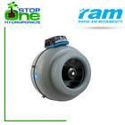 """RAM Inline Duct Fan 4/5/6/8/10"""" Inches 100/125/150/200/250mm Ventilation Hydro"""