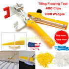 Lot Tile Leveling System Kit Wedges Clips / Pro Plier Tiling Flooring Tools USA