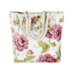stylish canvas tote bags - Fashionable Handbags For Ladies Casual Tote Shoulder Bags Stylish Floral Canvas