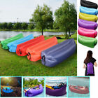 Inflatable Air Sofa Bed Lazy Sleeping Camping Bag Beach Hangout Couch Windbed 18