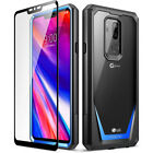 Case For LG G7 ThinQ Poetic【Guardian】Full-Body Rugged Clear Bumper Cover 4 Color