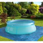 Family Inflatable Swimming Pool Deep Kids Pools Toy Outdoor Easy Set-up Blue New