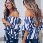 USA 2018 Women's Ladies Summer Long Sleeve Shirts Top Casual Blouse Tops T-Shirt