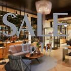 2 SALE UP TO Shop Window Glass Sign Retail Store Display Decal Vinyl Stickers UT