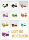 50x USB Power Adapter AC Home Wall Charger US Plug Fit i Phone 5s 6 7 7plus