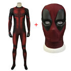 Deadpool Jumpsuit Wade Cosplay Deadpool Costume Comic Outfit The Jumpsuit Mask