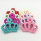 BPA Free Crown Silicone Teether Pendent DIY Baby Teething Jewelry Safe Necklace