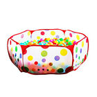 Baby Children Play Tent Folding Portable Playpen Indoor Safety Polka Dot Hexagon