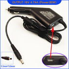 Laptop DC Adapter Car Charger + USB for Samsung NP-X65A008/SEK NP-X65A009
