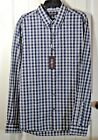down in the tubestation at midnight - NWT MENS MICHAEL KORS BUTTON UP DOWN MIDNIGHT PLAID LONG SLEEVE SHIRT SZ S, 2XL