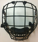 CCM FM580 Black Hockey Helmet Cage - Face Mask - Small, Medium or Large