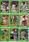 1990 Score Baseball #1-250 Complete A Set Combined S&H