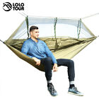 1-2 Person Outdoor Portable Traveling Camping Hammock Swing With Mosquito Net