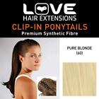 Love Hair Extensions India Crocodile Clip Synthetic Ponytail Colour Accessories