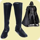 Star Wars Darth Vader Cosplay Boots Black Shoes Cos Accessories Customized $42.2 USD on eBay