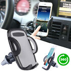 360 Rotate Car  Mount Cradle Holder Air Vent Stand for Universal iPhone Samsung