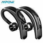 Mpow Bluetooth Headset Wireless Earbud Earpiece Headphones f