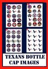 Houston Texans NFL 15-150 Precut Bottle Cap Images bows Jewelry Magnets $7.99 USD on eBay