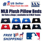 MLB Pet Plush Pillow Bed - Licensed Soft and Cozy Premium Pillow in 7 MLB Teams